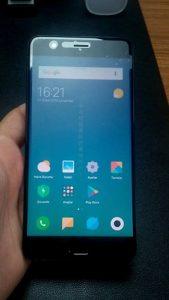 Xiaomi Mi Note 3 siyah 64 gb görünüşü